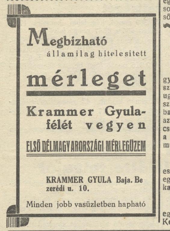 Gyula hirdetes 1938-01-28.