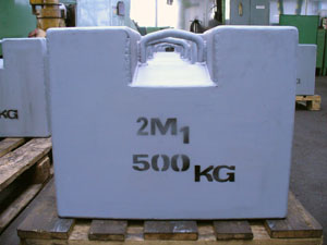 500 kg etalon