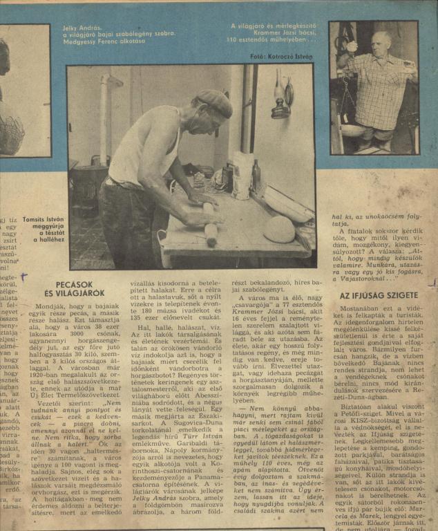 Pecasok es vilagjarok 1976.